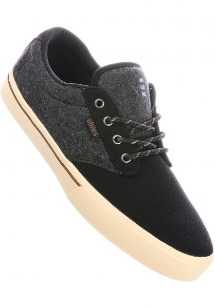 etnies Alle Schuhe Jameson 2 Eco black-heather vorderansicht 0602360