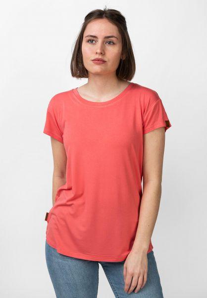 alife and kickin T-Shirts Mimmy coral vorderansicht 0320759