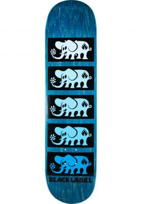 Black-Label Skateboard Decks Elephant Stacked