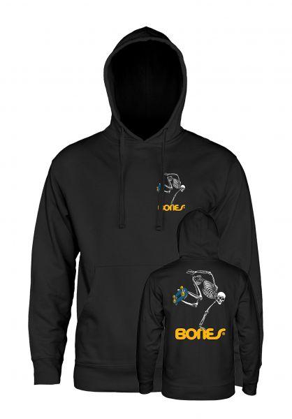 Powell-Peralta Hoodies Skateboard Skeleton Medium Weight black vorderansicht 0443977
