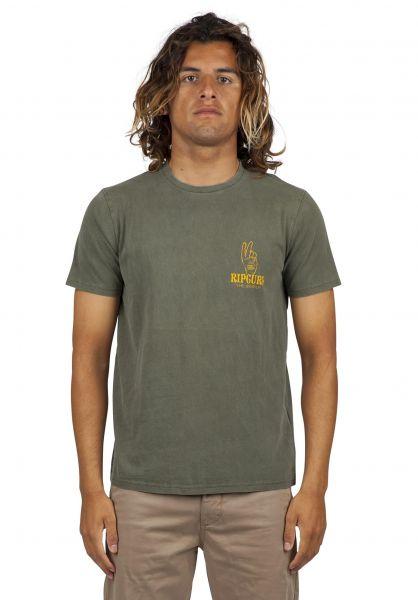 Rip Curl T-Shirts Wavy Gravy darkgrey vorderansicht 0320630