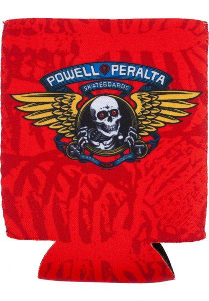 Powell-Peralta Verschiedenes Winged Ripper Koozie red vorderansicht 0972695