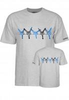 Powell-Peralta T-Shirts Vato Rat Band gray Vorderansicht