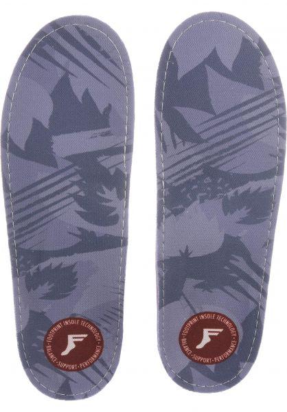 Footprint Insoles Einlegesohlen Gamechangers Camo lightgrey vorderansicht 0249072
