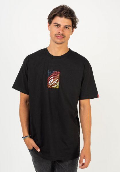 ES T-Shirts Blend black vorderansicht 0322613