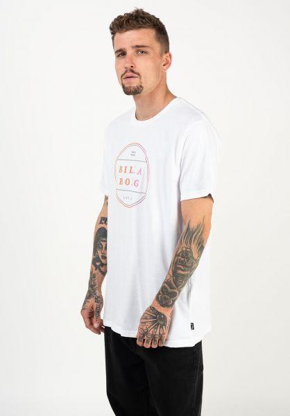 Billabong T-Shirts Breaker white vorderansicht 0322646