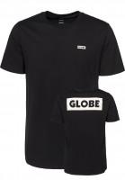 Globe T-Shirts Sticker black Vorderansicht