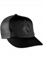 Powell-Peralta-Caps-Trucker-Cap-Triple-P-black-black-Vorderansicht
