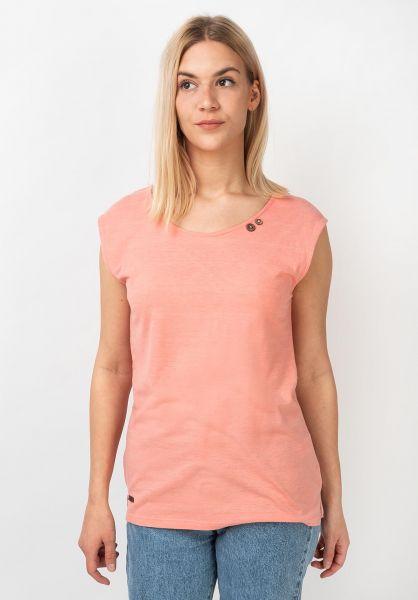 Ragwear T-Shirts Sofia peach vorderansicht 0321148