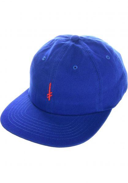 Deathwish Caps Gang Logo blue-red vorderansicht 0566229