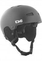 TSG-Snowboardhelme-Arctic-Kraken-Solid-Color-satin-black-Vorderansicht