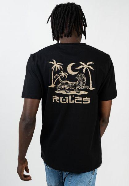 Rules T-Shirts Prowler black vorderansicht 0399960