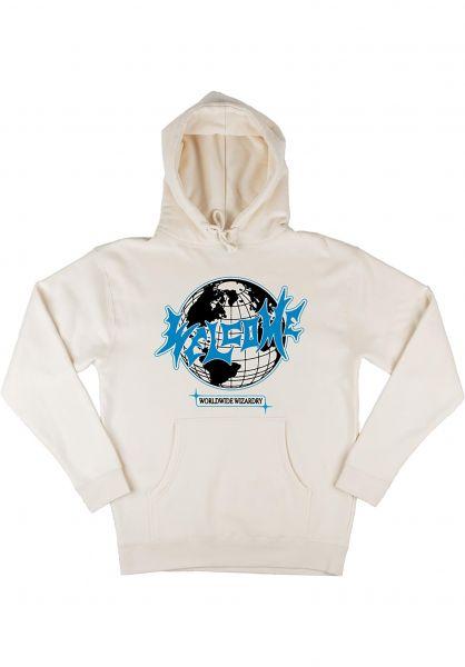 Welcome Hoodies Mister Worldwide bone vorderansicht 0446271