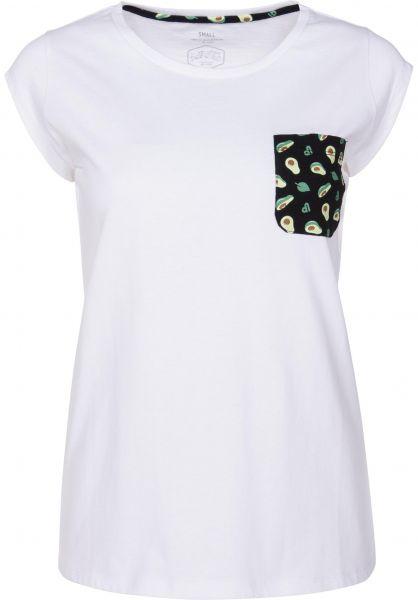 TITUS T-Shirts Avo Pocket white vorderansicht 0397414