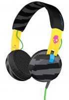 Skullcandy Kopfhörer Grind On Ear W/Tap Tech locals only-yellow-black Vorderansicht