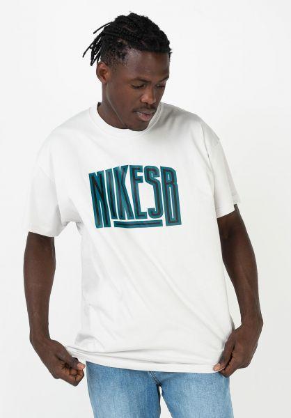 Nike SB T-Shirts Force vastgrey vorderansicht 0321788