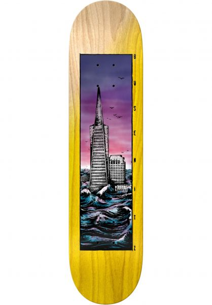 Real Skateboard Decks Busenitz Flooded yellow vorderansicht 0263365