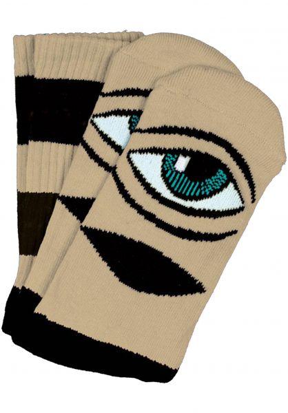 Toy-Machine Socken Sect-Eye-III yellow vorderansicht 0630253