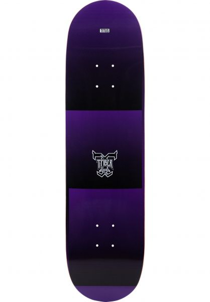 TITUS Skateboard Decks Scan T-Fiber purple vorderansicht 0261372
