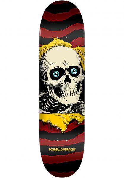 Powell-Peralta Skateboard Decks Ripper Birch Mini one off-burgundy vorderansicht 0117161