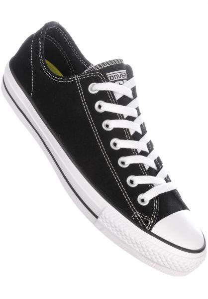 0da602eded4ea8 Converse CONS Alle Schuhe CTAS Pro Suede Ox black-white Vorderansicht