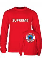Powell-Peralta Longsleeves Supreme red Vorderansicht