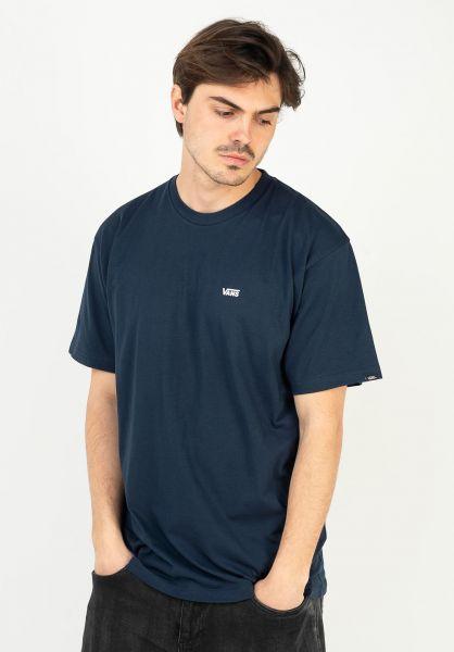 Vans T-Shirts Left Chest Logo dressblues-white vorderansicht 0397675