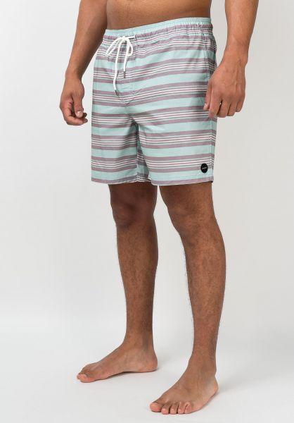 RVCA Beachwear Controller Elastic Short dustyaqua vorderansicht 0205400