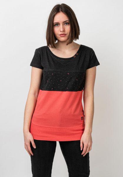 alife and kickin T-Shirts Clea coral vorderansicht 0399153