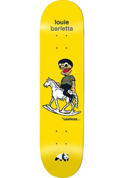 Enjoi Skateboard Decks Barletta What´s The Deal yellow vorderansicht 0262600