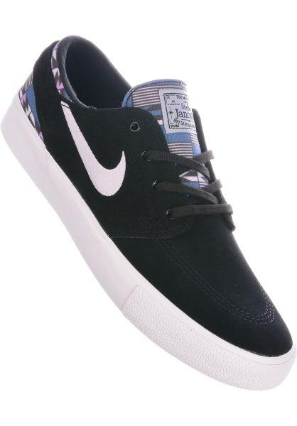 Nike SB Alle Schuhe Zoom Stefan Janoski RM Premium black-amethyst-tint-multi vorderansicht 0604665