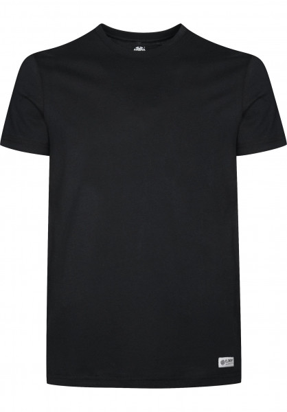 Element T-Shirts Basic Crew flintblack Vorderansicht