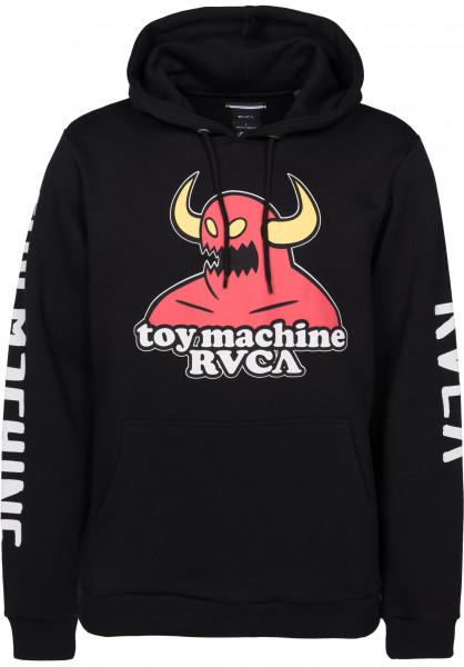 toy machine x rvca rvca hoodies in black for men titus