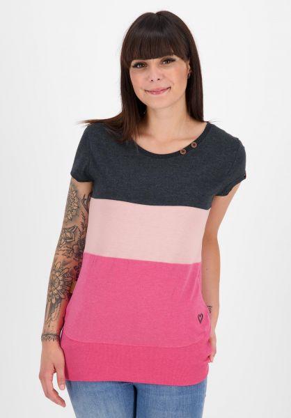alife and kickin T-Shirts Clea fuchsia 121 vorderansicht 0399153