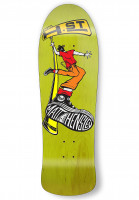H-Street Skateboard Decks Matt Hensley Street Swinger C-Series yellow-multicolored Vorderansicht