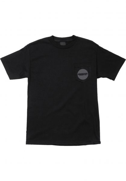 Bronson Speed Co. T-Shirts Spot Pocket black vorderansicht 0396612