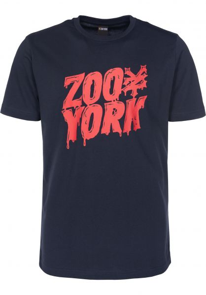 Zoo York T-Shirts Zoo Monster navy Vorderansicht