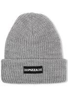 Pizza Skateboards Mützen Checkered grey vorderansicht 0572409