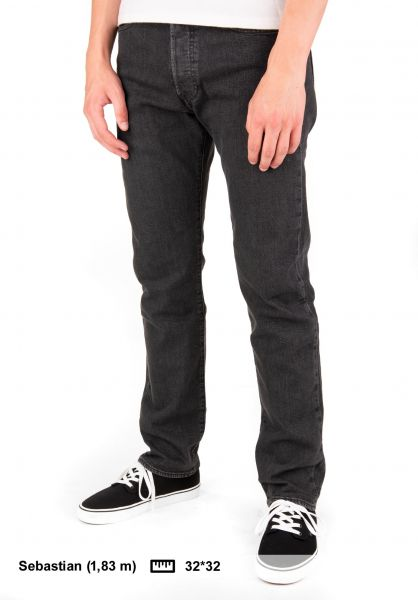 bee5d74a 501 Original Levis Skate Jeans in raven for Men | Titus