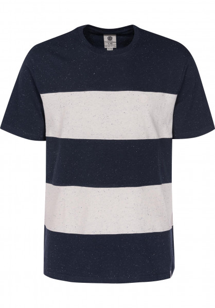 Element T-Shirts Braddy eclipsenavy Vorderansicht