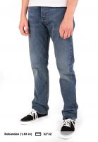 Levis Skate Jeans 501 Original blinker Vorderansicht