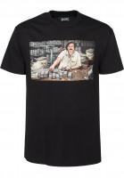 DGK T-Shirts The Boss black Vorderansicht