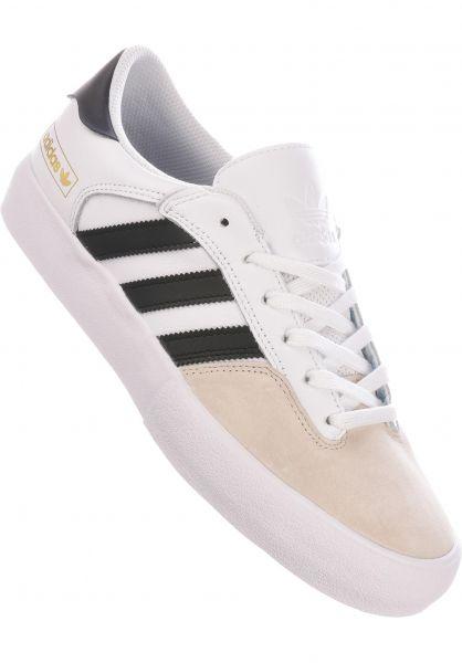 adidas-skateboarding Alle Schuhe Matchbreak Super white-coreblack-brown vorderansicht 0604762