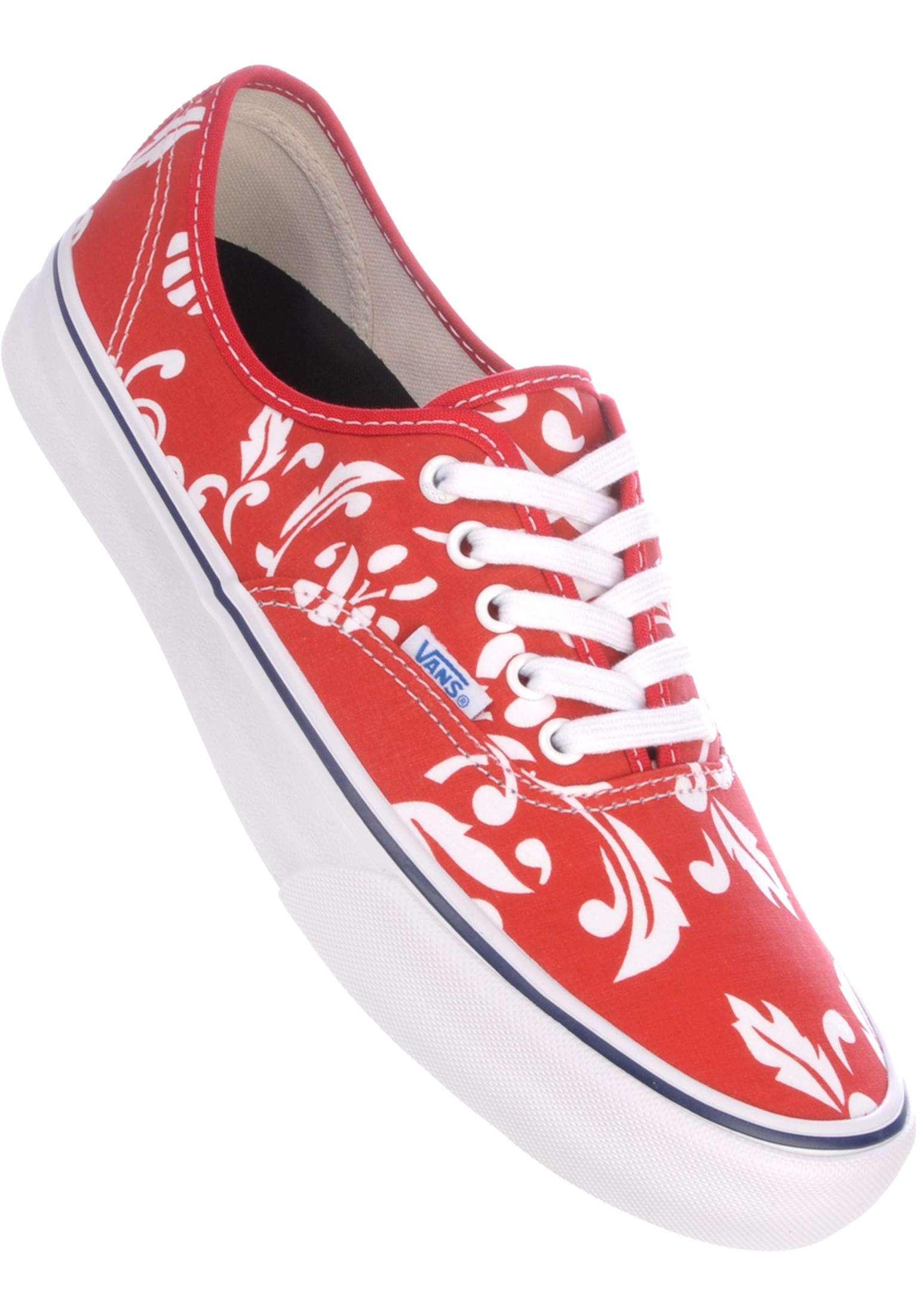 b25441594b Authentic Pro 66 Vans Alle Schoenen in duke-red-white voor Heren
