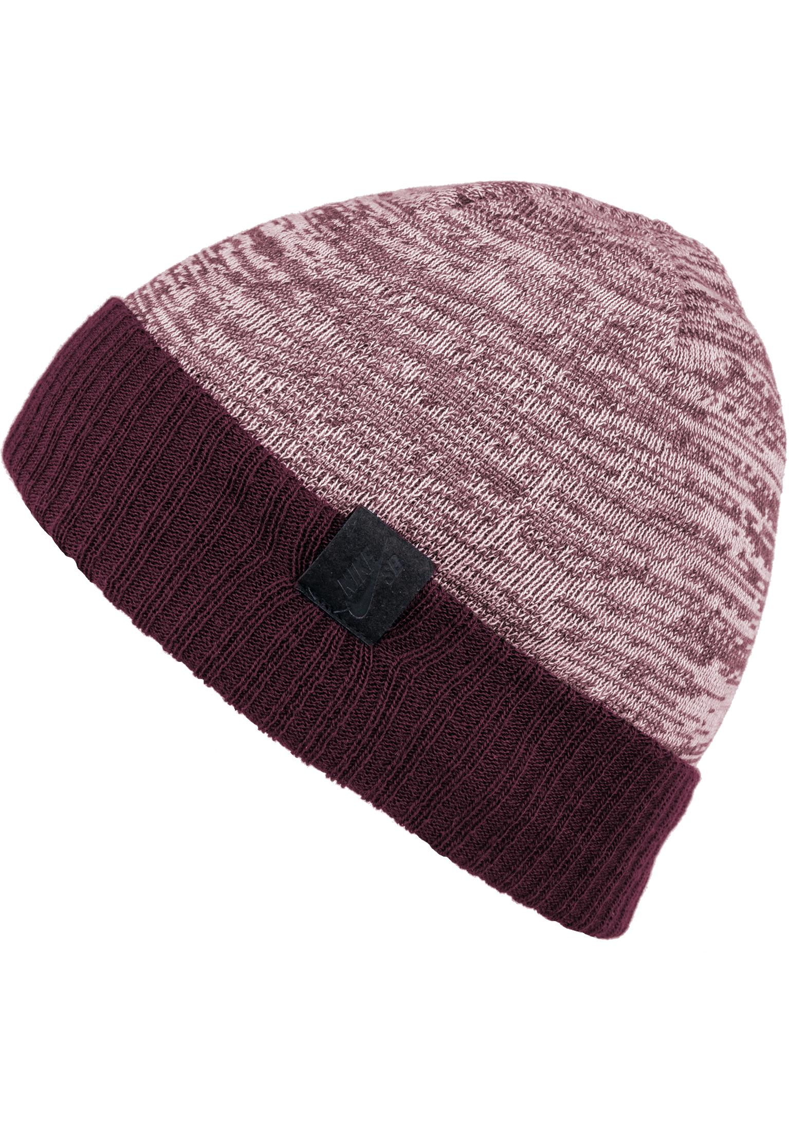 finest selection 2a39d 7310a Seasonal Nike SB Beanies in burgundy-crush for Men   Titus