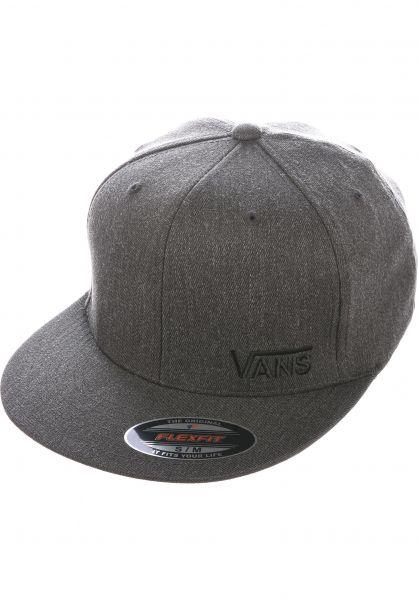 Vans Caps Splitz charcoal-heather vorderansicht 0561128