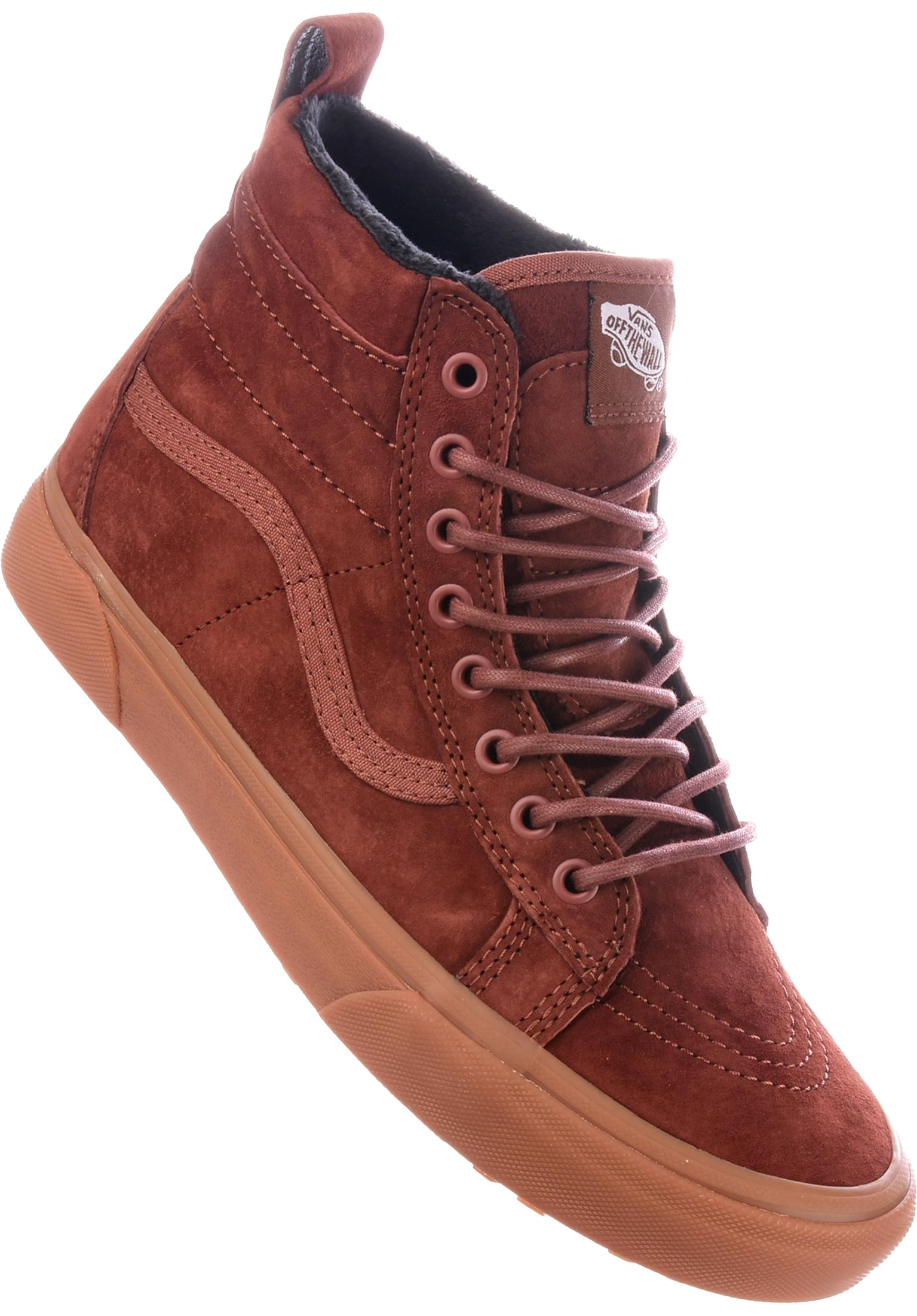 52ba783e09 Sk8 Hi MTE Vans All Shoes in sequoia-gum for Men