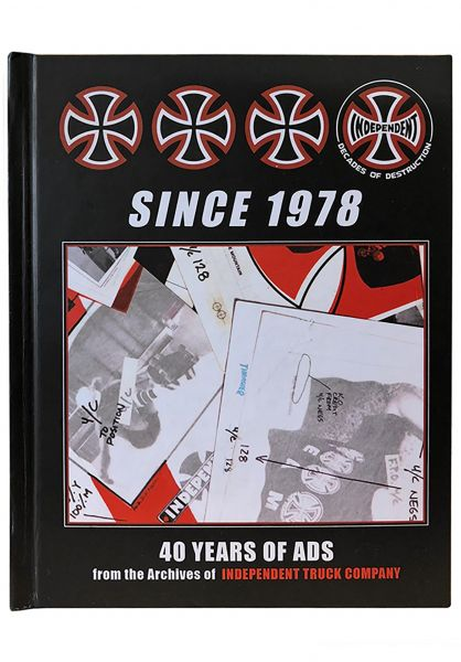 Independent Verschiedenes SINCE 1978 - 40 Years of Ads black-red Vorderansicht