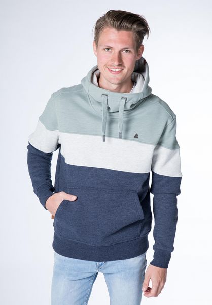 alife and kickin Hoodies King marine vorderansicht 0445587