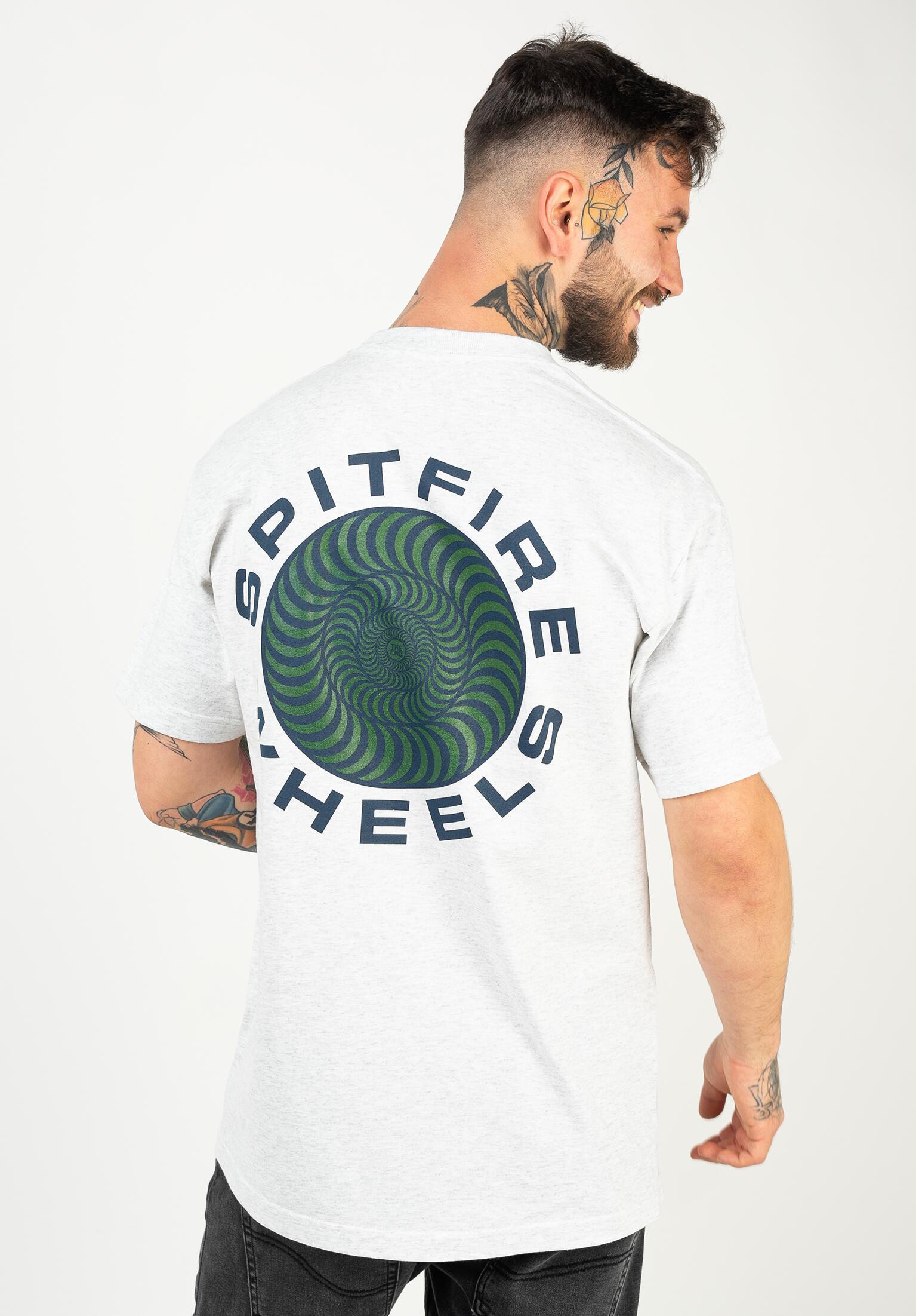 Spitfire Skateboards Pullover Hoody Classic 87 Swirl Navy//White